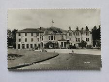 Loch Achray Hotel, Trossachs Vintage B&W Postcard 1958