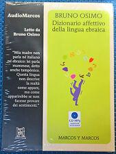 Dizionario affettivo della lingua ebraica  - Osimo - 2013, Audiolibro Marcos