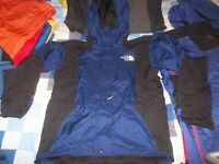 The North Face Mountain Light Parka Gore-tex Jacket Coat Blue Men's Small TNF