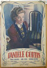 soggettone film DANIELE CORTIS Sarah Churchill Mario Soldati 1947