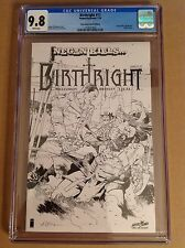 CGC 9.8 Birthright #17 SDCC Sketch Variant Negan Kills Walking Dead