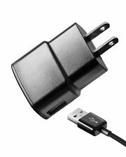 OEM Samsung 1 Amp AC Wall Travel Power (AC) Adapter Charger+Micro USB Data Cable