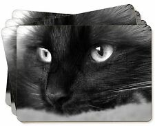 Gorgeous Black Cat Picture Placemats in Gift Box, AC-1P
