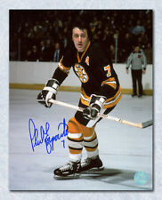 Phil Esposito Boston Bruins Autographed NHL Game Action in Black 8x10 Photo