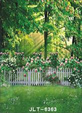 LB Green garden Photography background studio Photo Props backdrop 3X5FT 6363