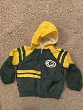 Green Bay Packers Jacket Kids Size 24 months Baby Coat Windbreaker Football