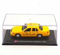 LEO Crown Victoria-New York-1992 TAXI Car Model 1/43 Automobile Vehicle Toy