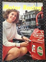 MOTOR RACING and SPORTSCAR JULY 1969 MAGAZINE MINT CONDITION
