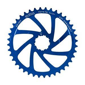 A2Z WIDE RANGE CASSETTE ADAPTER SPROCKET - 40T - BLUE - AD-40T-4 - 10 SPEED -