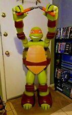 Life Size 4 Ft Tall Teenage Mutant Ninja Turtles Statue Man Cave Michelangelo