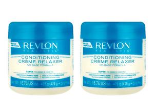 2 X Revlon Professional Relaxer Super Conditioning Cream