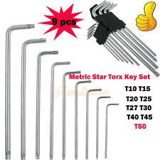 Allen Key Set Metric Star Torx Key Tool Set T10 T15 T20 T25 T27 T30 T40 T45 T50
