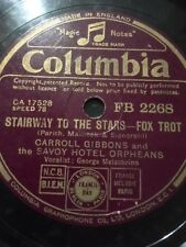 CARROLL GIBBONS & SAVOY HOTEL ORPHEANS 78 - STAIRWAY TO THE STARS / F.D.R. JONES