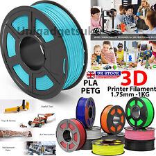 Impresión de la impresora 3D filamento 1.75mm 1KG Carrete Varios Colores PETG/Pla/Pla + Reino Unido