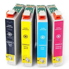 10x Ink Cartridges T200 XL for Epson WF-2520 WF-2530 WF-2540 XP310 XP410 Non-OEM