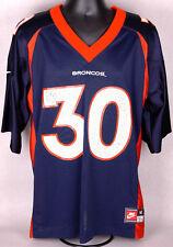 Vintage Nike Terrell Davis Denver Broncos Football NFL Jersey-Men's M-Blue-30