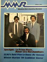 Vintage MUSICAL MERCHANDISE REVIEW, MMR Magazine, Winter Market January 1984