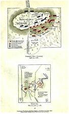 Original 1781 Revolutionary War Maps Hobkirk'S Hill (Camden) & Ninety-Six