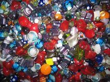 GLASPERLEN MIX/PERLEN MIX 1 kg  BUNTE MURANO GLASPERLEN/SILBERFOLIE BUNTER MIX