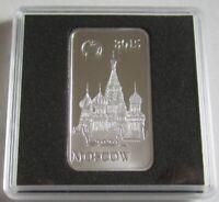 Salomonen 2 Dollars 2015 Wahrzeichen Basilius-Kathedrale in Moskau 1/2 Oz Silber