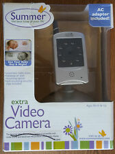 Summer Infant Extra Video Camera 02840 - Silver - Brand New