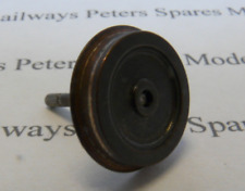 Hornby S2465CO Ringfield Wheel None Insulated Large Disc Blackened On Axle