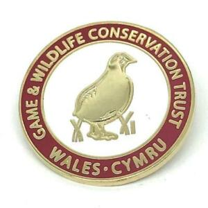 GWCT Wales Supporters Badge - Game & Wildlife Conservation Trust