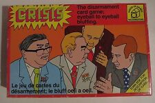 Crisis The Disarmament Card Game 1975 Complete