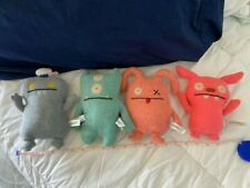 """UGLY DOLLS 7"""" SET OF 4, Good Condition, Made in China"""