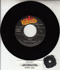 "KENNY CHANDLER Heart & BERNEDETTE CARROLL  Party Girl 7"" 45 NEW + jukebox strip"