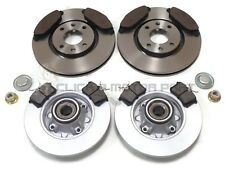 PEUGEOT 308 CC 1.6 HDi FRONT & REAR BRAKE DISCS & PADS WHEEL BEARINGS ABS RINGS