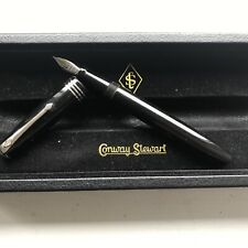 More details for modern conway stewart 58 18ct  nib fountain pen stunning minty boxed  serviced