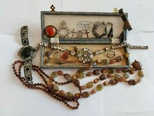 Victorian Antique Jewellery Joblot Bundle Collection Spare Repair