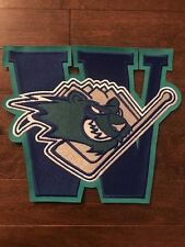 Worcester Ice Cats W AHL Original Front Hockey Jersey Crest Patch 10 by 9 in