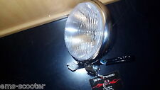 Scheinwerfer SYM Allo Aprilia Habana Mojito Custom Compay 50-125 Chrom Retro NEU