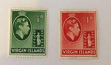 Virgin Islands Sg 110/111 Mint Cat £8,75