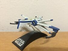 Hasbro Star Wars Titanium Series Miniature ARC-170 Fighter--Blue 2005 Version