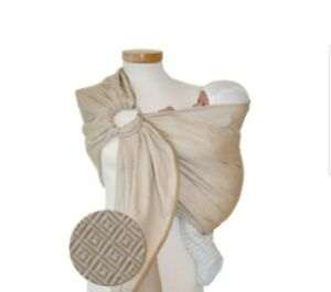 STORCHEN WIEGE Germany Natural Cotton Baby Ring Sling/Wrap/Carrier STORCHENWIEGE