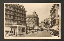 "GRENOBLE (38) TRAMWAY à L'HOTEL ""HOTEL MODERNE"" , vers 1930"