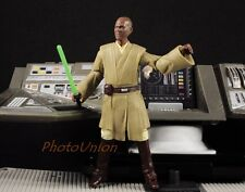 "S288 Hasbro Star Wars 3.75"" Figure 1:18 Jedi Council Master Mace Windu 2011"
