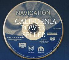 CHRYSLER DODGE JEEP NAVIGATION DISC DVD CD 033AA NAV MAP DISK GPS NAVAGATION