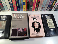 Marlene Dietrich VHS Lot Of 2 Documentary + The Blue Angel Emil Jannings
