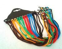 Confiable 12x gafas de nylon cable de cristal correa de cuelloPortagafas cue*ws