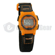 VibraLITE Mini 12 Alarm Vibration Watch for Kids, Black/Orange VM-VOR #24