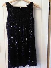 H & M Sequence Black Dress size Medium