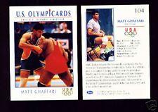 1992 OLYMPIC HOPEFULS MATT GHAFFARI WRESTLING CARD #104 ~ MULTIPLES AVAILABLE