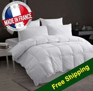 Made in France Washable Goose/Duck Down Quilt European Single Size 135x190cm