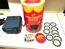 Vintage 1971 ViewMaster Theater In The Round  Disney Set Complete and Working