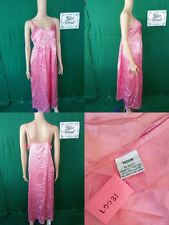 Intimates, 100% polyester and lace, night gown, size M, PINK L0031