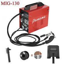 Professional MIG Welder 130 amp No Gas Gasless Flux Welding Machine Complete Kit